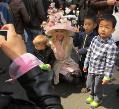 With Eric at the New York City Easter Parade #easterparade #easter #newyorkcity