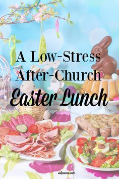low-stress easter lunch