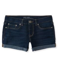 Kids' Dark Wash Denim Shorty Shorts - PS From Aéropostale®