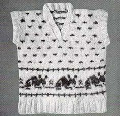 Mother Goose Sweaters for Children – free vintage knitting patterns | Grandmother's Pattern Book
