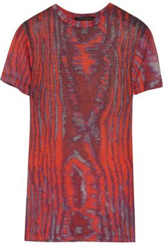 Christopher Kane Printed modal T-shirt #DesignerSpotlight