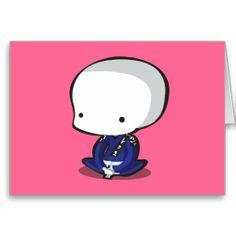 Jiu Jitsu Greeting Card