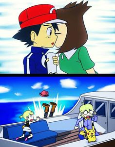 Imagine that! Lol! XD X'D :D :'D :) :') #Amourshipping ^.^ ♡ I give good credit to whoever made this