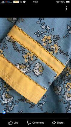 Kurti Sleeves Design, Kurta Neck Design, Sleeves Designs For Dresses, Neckline Designs, Dress Neck Designs, Sleeve Designs, Beautiful Dress Designs, Stylish Dress Designs, Stylish Dresses For Girls