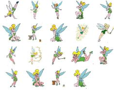 Tinkerbell Vector | Free Machine Embroidery Designs/Patterns. Immediate download of files ...