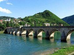 Old Bridge on the Drina river