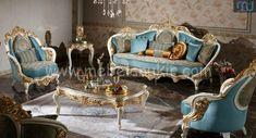 Sofa Mewah Jepara Terbaru Luxury Home Furniture, Italian Furniture, Cool Furniture, Furniture Design, Luxury Sofa, Luxury Living, Sofa Design, Interior Design, Antique Sofa