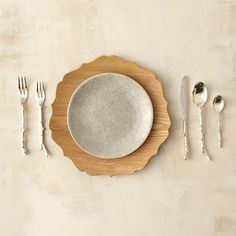 Twig Five-Piece Flatware Place Setting in House + Home Dinnerware at Terrain