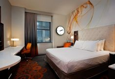 Marriott's Recidence Inn, 1 World trade centre NYC will open Dec 2014 (searched free and fast wifi business) Trade Centre, World Trade Center, Hotel Bedroom Design, Brookfield Place, Pull Out Sofa, Downtown Hotels, Hotel Services, Pillow Room, Hotel Suites