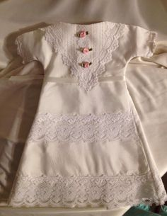 #AngelGowns♥ ~ Made with love by a Sister Seamstress @ nicuHelpingHands.org