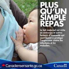 Découvrez tous les avantages d'allaiter votre bébé :  http://www.canadiensensante.gc.ca/kids-enfants/infant-care-soins-bebe/nutrition-alimentation-fra.php?utm_source=Pinterest_HCdns&utm_medium=social&utm_content=Dec15_BreastfeedingBenefits_FR&utm_campaign=social_media_13