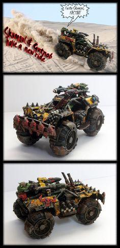 40K Ork buggy conversion - Forum - DakkaDakka | I see lead people.