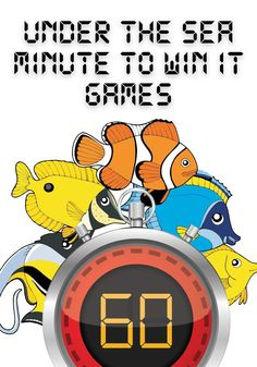 FREE Under The Sea Minute To Win It Games