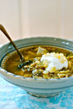 freekeh-and-cabbage-soup from Food to Glow