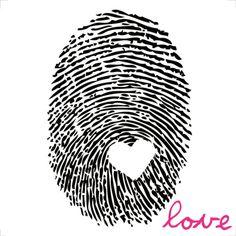 Love Print by Louise Carey