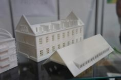 3D printed architectural model, seen at the FabCon 3.D