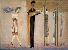 Underground Fantasy by Mark Rothko (Marcus Rothkowitz) (1903-1970, Latvia)