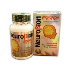 Neurobion Energy Amino Acids B Vitamins and Zinc 60 Capsules  Price: 12.98 & FREE Shipping  #hashtag3 Zinc Capsules, Vitamin B Complex, Amino Acids, Lemonade, Vitamins, Free Shipping, Drinks, Bottle, Health And Beauty