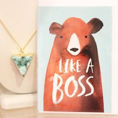 This card tho! #likeaboss #getit #yougotthis #paperlove #sendmoremail #greetingcard #stationery #boutique #shopsmall #cuteshop ##yvr #vancouvershopping #vancouver #giftshop #gastown #meadowgifts by meadowgifts