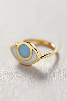 Need this eye ring Eye Jewelry, Jewelry Box, Jewelry Rings, Fashion Jewelry, Jewellery, Cheap Jewelry, Mains Couple, Bling Bling, Women's Accessories