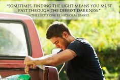 Nicholas Sparks   The Longest Ride. This is my favorite quote from this book(: