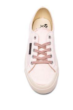 Superga Velvet Sneaker in Ballet Pink