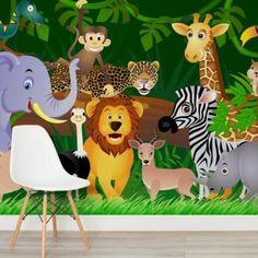 jungle-animals-children-square-wall-murals