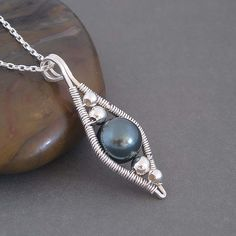 A Wire Wrapping Wave Pendant — Crafthubs                              …