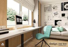 SKANDYNAWSKI DOM W WAWRZE - Biuro, styl skandynawski - zdjęcie od design me too