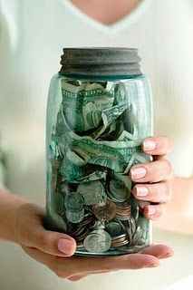 The Christmas Jar is a fabulous idea. Start with any jar and collect money throughout the year and give it to someone who needs it at Christmas time. Great tradition to start with M.