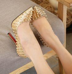 European Style Rivet Matching Shoes LAVELIQ