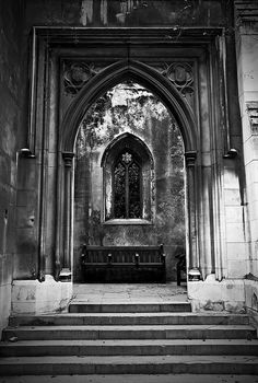 Gothic because gothic architecture is truly beautiful and inspiring :) Gothic Style Architecture, Ancient Greek Architecture, Sacred Architecture, Architecture Design, Beautiful Architecture, Victorian Gothic Decor, Portal, Gothic Photography, Gothic Buildings