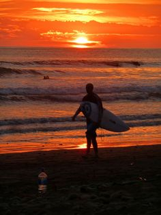 Sunset Surf in Dominical