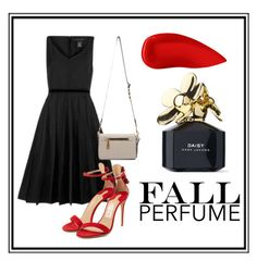 """Classic red"" by victoriavvg on Polyvore featuring Belleza, Marc Jacobs, Salvatore Ferragamo y Lipstick Queen"