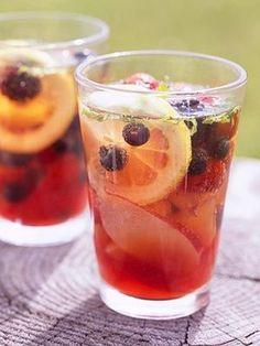 Healthy Homemade Green Tea Soda