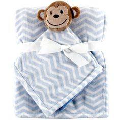 Hudson Baby Boys' and Girls' Security Blanket, & Blanket, Choose Your Color