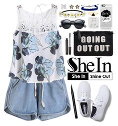 """""""SheIn"""" by oshint ❤ liked on Polyvore featuring Keds, Laura Mercier, Happy Plugs, Impulse, Casetify, Domo Beads, Marc by Marc Jacobs, Bobbi Brown Cosmetics and shein"""