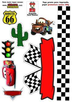 Hot Wheels, Cake Toppers, Party, Scrap, Character, Custom Art, Cars And Trucks, Cartoon Wallpaper, Cupcake Logo
