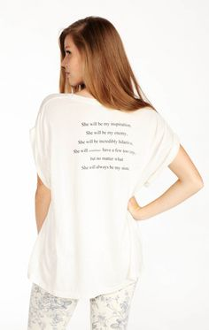 Wildfox Couture Sisters Boy Tee $77.00