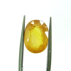Yellow Sapphire is the birthstone for Sagittarius sunsign (22 Nov - 21 Dec). In Indian astrology, Pukhraj gemstone is the rashi ratna for Sagittarius and Pisces. Yellow Sapphire stone strengthens Jupiter (Brihaspati) and brings its wearer wealth, wisdom, spirituality and health. Ascendants of Aries, Cancer, Leo and Scorpio can also wear a Yellow Sapphire. The gem which induces religious thoughts and actions.