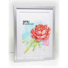 Essentials by Ellen Clear Stamps, Mondo Peony by Julie Ebersole -