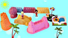 Kinetic Sand Float Water Slide Adventure Waterpark Pool Party with Andrea Stephanie Lego Friends Kinetic Sand, Lego Friends, Water Slides, Adventure, Toys, Party, Youtube, Activity Toys, Clearance Toys