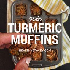 And a good dose of turmeric adds beautiful anti-inflammatory benefits. Toasted Pumpkin Seeds, Pumpkin Puree, Pumpkin Spice, Food Swap, A Food, Good Food, Healthy Muffin Recipes, Paleo Recipes, Local Honey