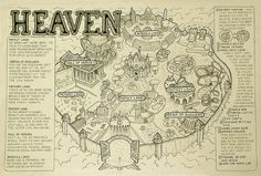 This is a map of heaven, so I guess it is! kn