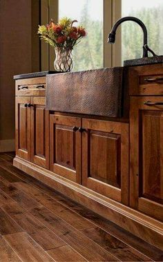 Wood Cabinets For Kitchen - CLICK THE IMAGE for Lots of Kitchen Ideas. #cabinets #kitchenisland