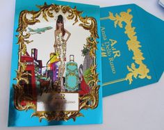 Anna Dello Russo for H The invitation - so pretty!