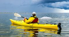 """Kayaking with the belugas in Churchill, Manitoba, Canada. Beluga whales, nicknamed """"sea canaries"""" for their strange high-pitched whistles, clicking, chirping and other underwater vocalizations, thousands of beluga whales inhabit the warmer waters of the Churchill River after the ice breaks up. #GILOVEMANITOBA"""
