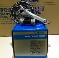 2014 Bicycle DEORE M610 M615 Crank & Chainwheel with BB51 Black&Silver 42X32X24T 170mm 175mm