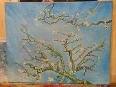 Van Gogh, Almond blossom Study Van Gogh Almond Blossom, Study, Paintings, Art, Art Background, Studio, Paint, Painting Art, Kunst