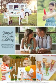 I Heart Faces Ice Cream Soda Day Photo Inspiration